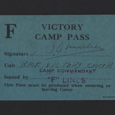 Victory Camp Pass
