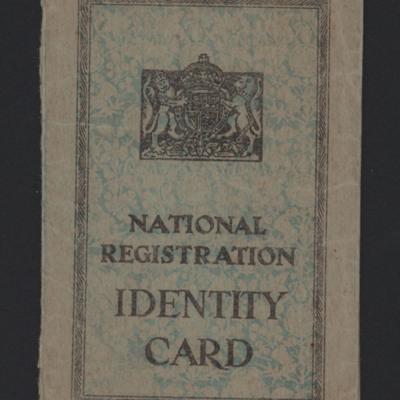 Bernard Mabey's Identity Card
