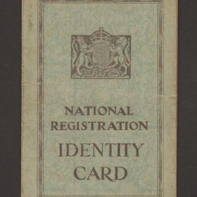 Roy Maddock-Lyon's Identity Card