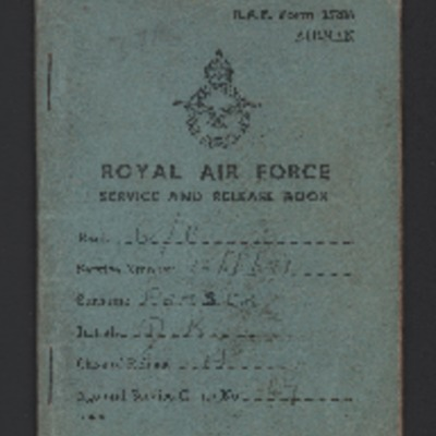 Donald Fraser's Service and Release book