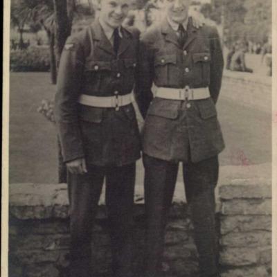 Two airmen
