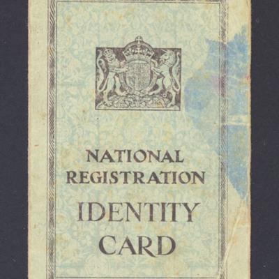 Muriel Blake Identity Card