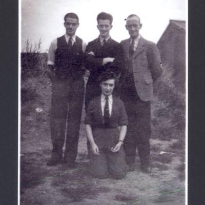 Muriel Blake and three civilians