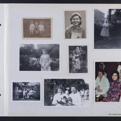 Burkitt family photographs