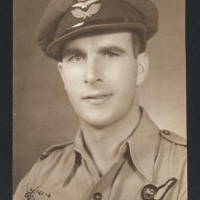 Flying Officer G Cruickshank DFM