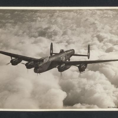 Lancaster airborne
