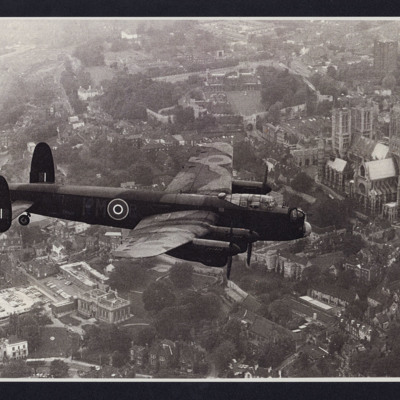 Lancaster over Lincoln