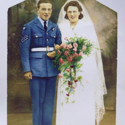 Bill Harvey and his Bride
