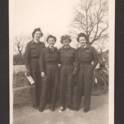 Four members of the Women's Auxiliary Air Force