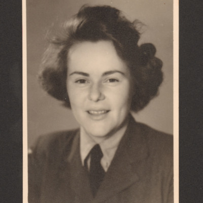 Member of Women's Auxiliary Air Force