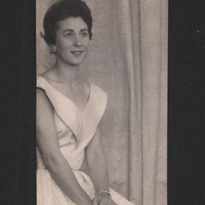 Woman in formal dress