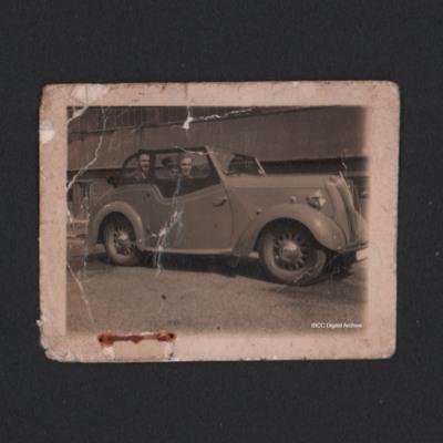 George Ellams with car