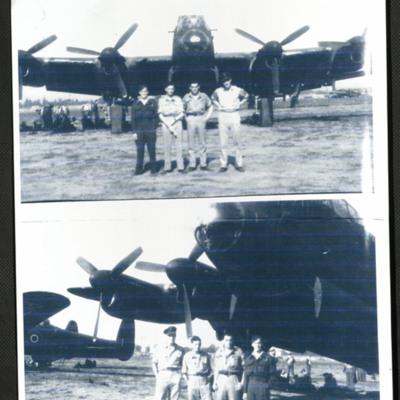 Four Airmen and a Lancaster