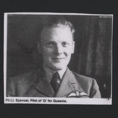 Flight Lieutenant Spencer