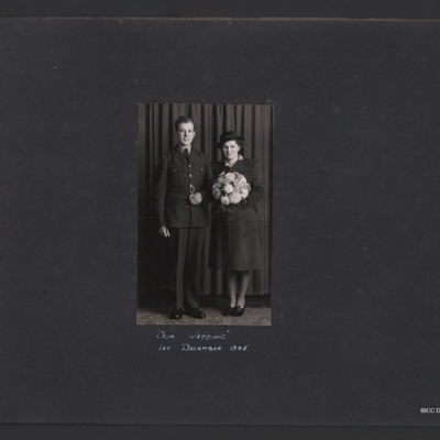 William Coulton's wedding