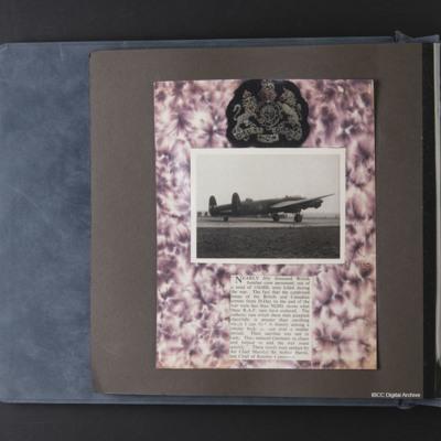 Bomber Command memorabilia