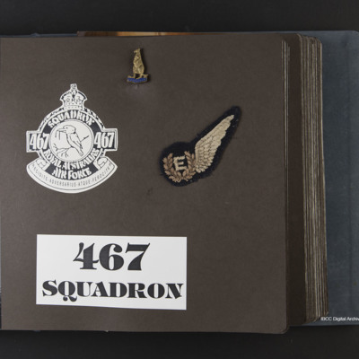 467 Squadron memorabilia