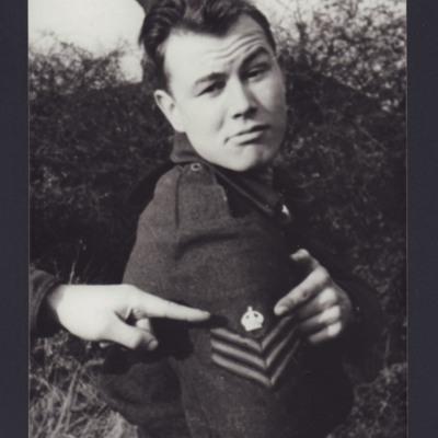Flight Sergeant Cyril Barton