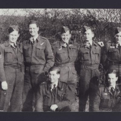Cyril Barton and six airmen