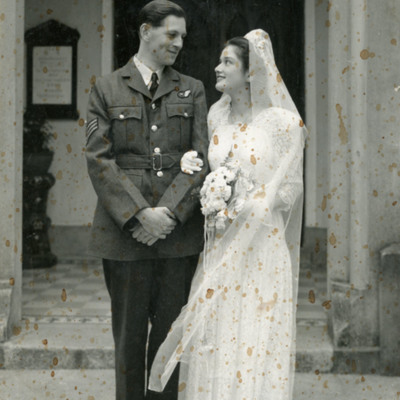 Maurice Marriott's Wedding day
