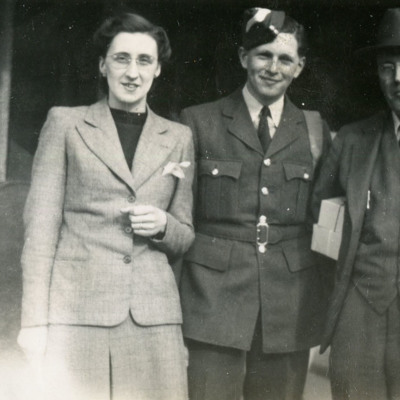 Maurice Marriott and his parents