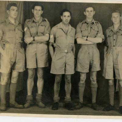 Five airmen