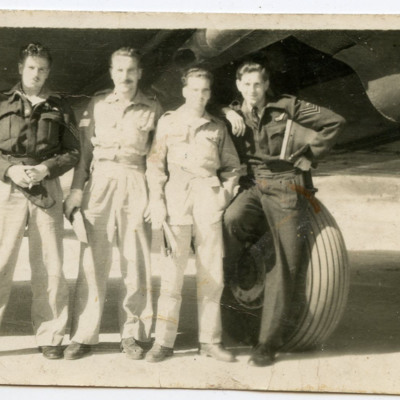 Four airmen
