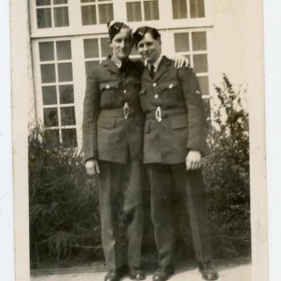 Two Trainee Airmen
