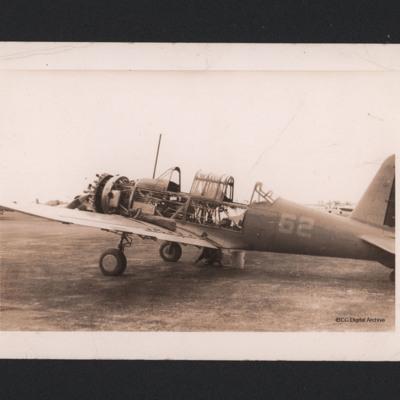 Harvard training aircraft